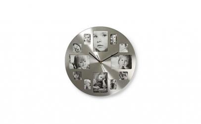 Ceas de perete cu rama foto 40 cm