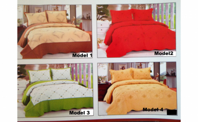Cuvertura pentru pat + 2 fete perna