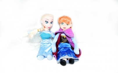 Set papusi muzicale din plus- Frozen