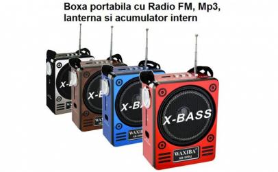 Mini Boxa Portabila Difuzor Lanterna MP3