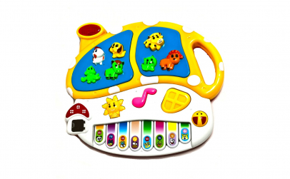 Orga muzicala animale cu minipian