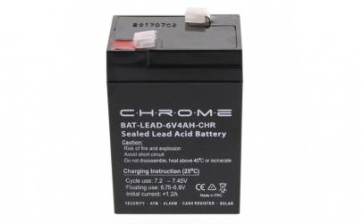 Acumulator plumb acid 6V 4AH, Chrome