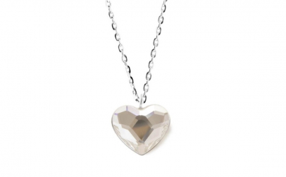 Colier Heart Crystal