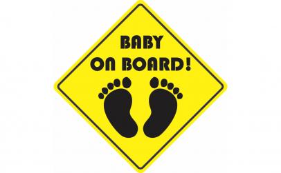 Baby on board  Sticker Autocolant