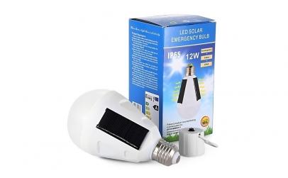 Bec LED solar 12 W
