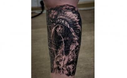 Tatuaj Color sau Alb-Negru 30 Cm patrati