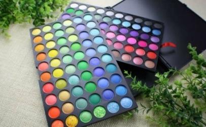Trusa machiaj 120 culori