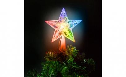 Ornament de pom de Craciun, model stea,