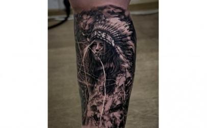 Tatuaj 100 cm2