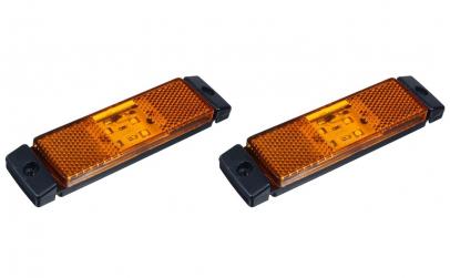 Set 2 lampi gabarit 130x32 24V