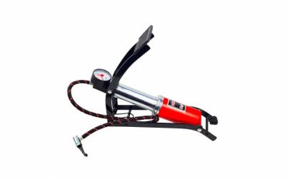 Pompa auto de picior cu manometru 7 bari