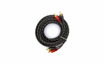Cablu audio RCA MDK, 2 x RCA tata, 5 m