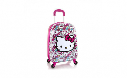 Troler ABS Copii  Heys  Hello Kitty  Roz