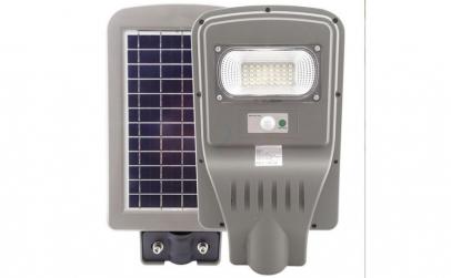 Lampa stradala 30W cu panou solar,