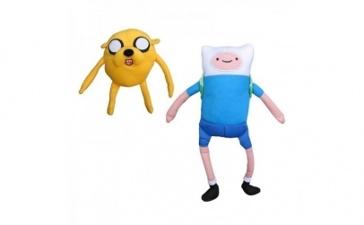 Plus Adventure time,  Finn and Jake, 61