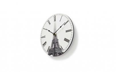 Ceas de perete elegant Turn Eiffel 30 cm