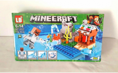 Joc creativ LB Minecraft