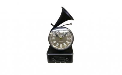 Ceas de masa in forma de Gramofon,