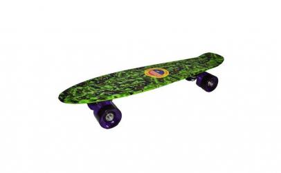 Placa skateboard , cu roti de silicon si