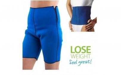 Pantaloni + centura pentru slabit