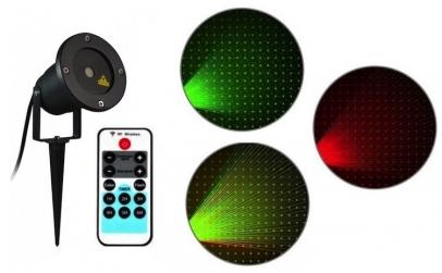 Proiector laser exterior cu telecomanda