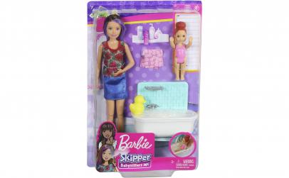 Set de joaca - Papusa Barbie cu papusica