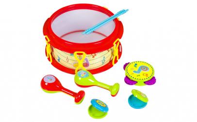 Set instrumente muzicale. 28x13x29cm.