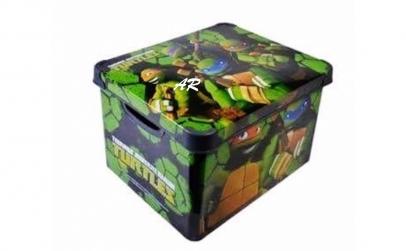 Cutie depozitare Turtles Ninja 20 litri