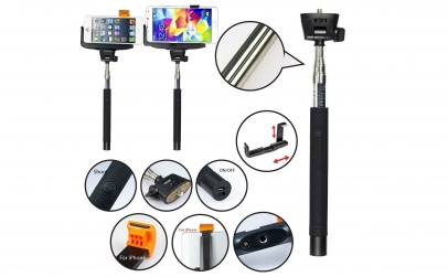 Selfie stick telefon Z07-5 bluetooth