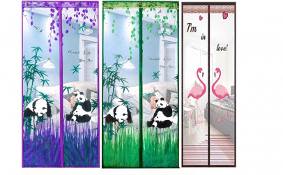 Perdea Anti-insecte Flamingo sau Panda