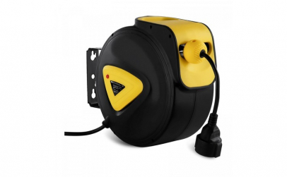Tambur retractabil pentru cablu electric