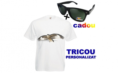 Tricou personalizat + ochelari de soare