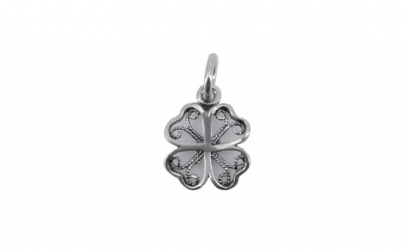 Pandantiv Argint 925 Trifoi Filigran