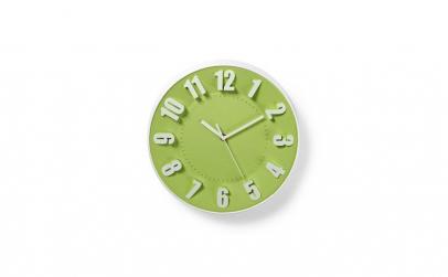 Ceas de perete elegant verde 30 cm Nedis