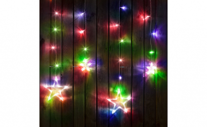 Sir luminos de Craciun - model stele -