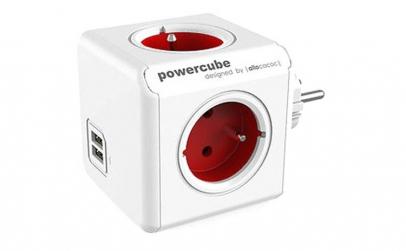 PowerCube Allocacoc Original USB RED