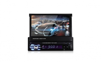 MP5 Player auto cu monitor HD reglabil