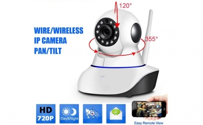 Camera de supraveghere HD IP Wifi 360