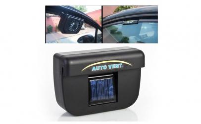 Ventilator solar pentru masina
