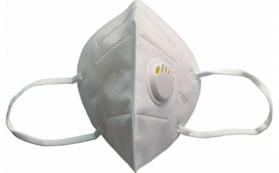 Masca Protectie KN 95, Alba, cu Valva