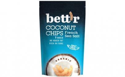 Chips de cocos cu sare eco 70g