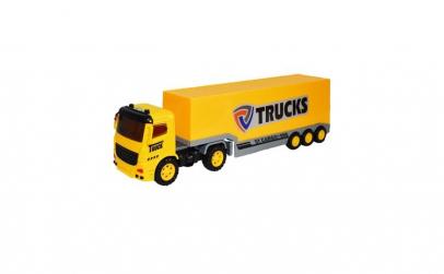Masinuta camion tip tir cu baterii ,