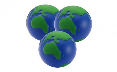 Set 3 mingi antistres, glob pamantesc