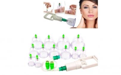 Set 12 ventuze medicinale