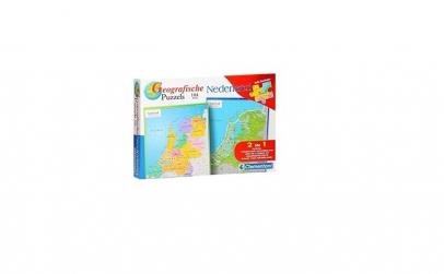 Puzzle geografic Netherland 104 piese 2