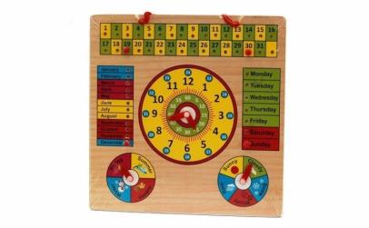 Jucarie educativa calendar - ceas