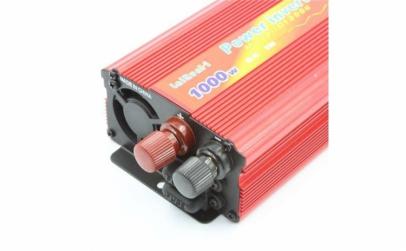 Invertor tensiune 12V-220V Lairun, 1000