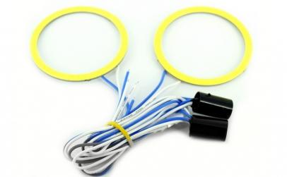 Cerc LED COB 60mm 12V alb ( PRET / BUC