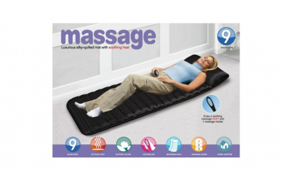 Saltea masaj si incalzire cu telecomanda