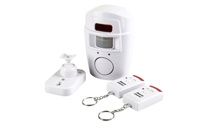 Alarma wireless, senzor, 2 telecomenzi